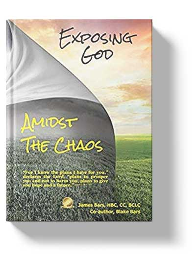 book cover for exposing god